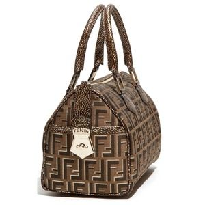 Fendi 'Chef Ombra' Satchel