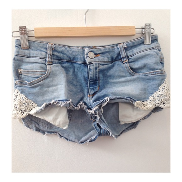 52% off Brandy Melville Denim - Brandy Melville Denim and Lace ...