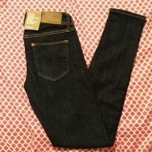 H & M super skinny super low jeans