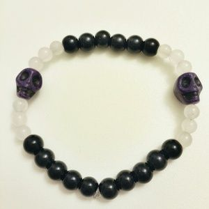 Jewelry - Beaded Skull Bracelet #4