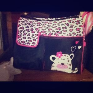 ✘hold Cheat print new diaper bag!