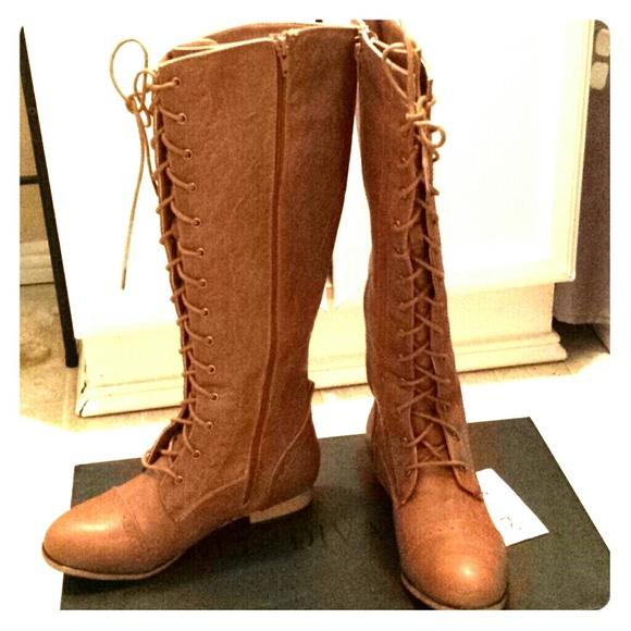 4e114a192d6ad4 Lace up brogue combat boots