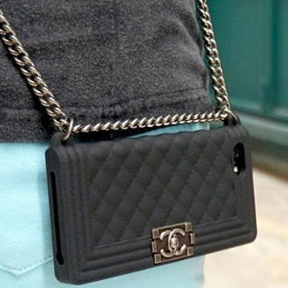 50% off Accessories - SALE!Black Chanel Boy iphone 5/ 5s ...