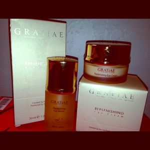 Eye cream + serum by GRATiAE