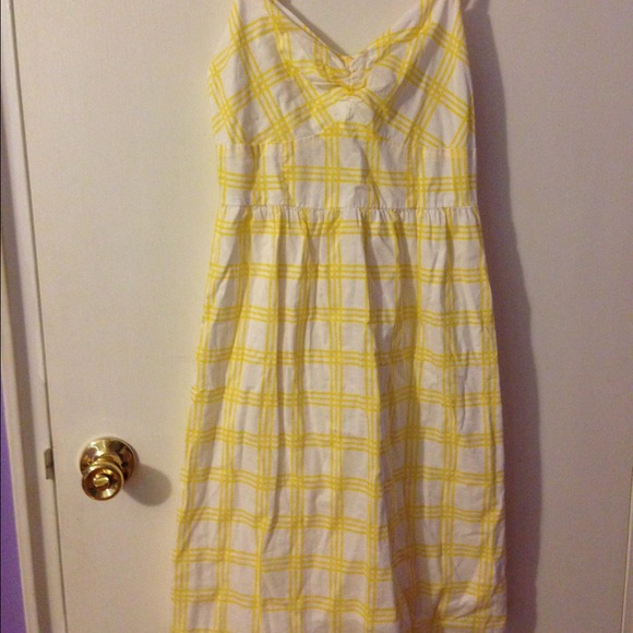 71 off old navy dresses amp skirts super cute yellow