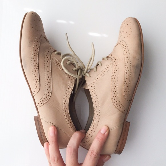 Steve Madden Shoes - Steve Madden Tan Oxford Flats 4
