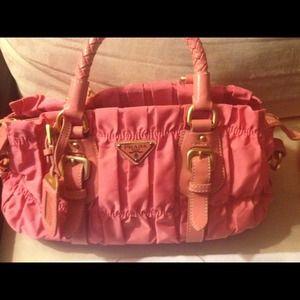 54% off Prada Handbags - Relist: Authentic Prada Tessuto Hobo Bag ...