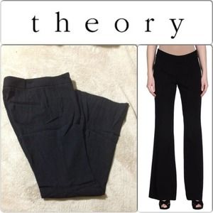 Theory Denim - Theory black dress pants