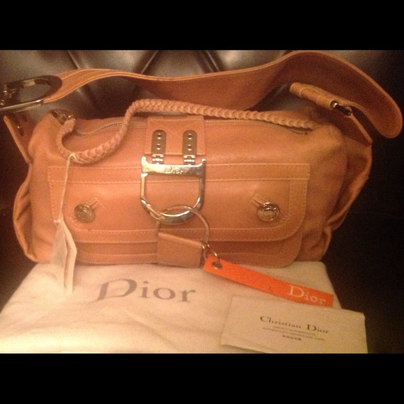 77a70fbfdc2a Trendy Tan Dior Leather Bag SALE  399 3 days ONLY
