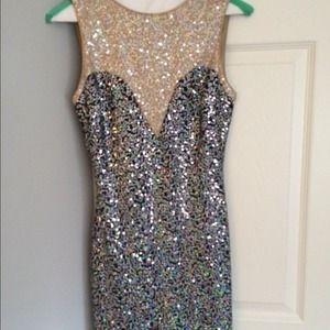 Dresses & Skirts - Perfect NYE Sequin Dress 🎉