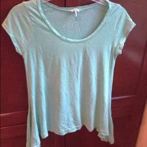 Tops - Sea Foam Green Winged Shirt