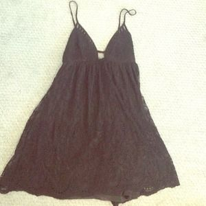 LF Dresses & Skirts - LF MILLAU black lace dress