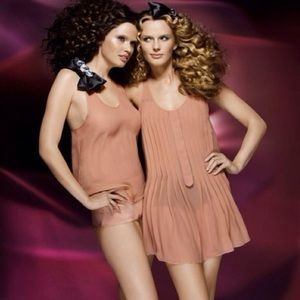 Sonia Rykeil Dresses   Sonia Rykeil For Hm Sheer Nude Slip