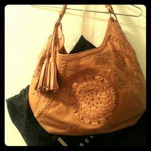 FIORE leather handbag