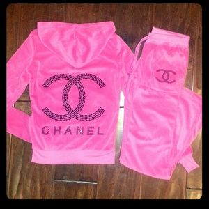 Chanel Tracksuit Coco Chanel Pinterest Chanel