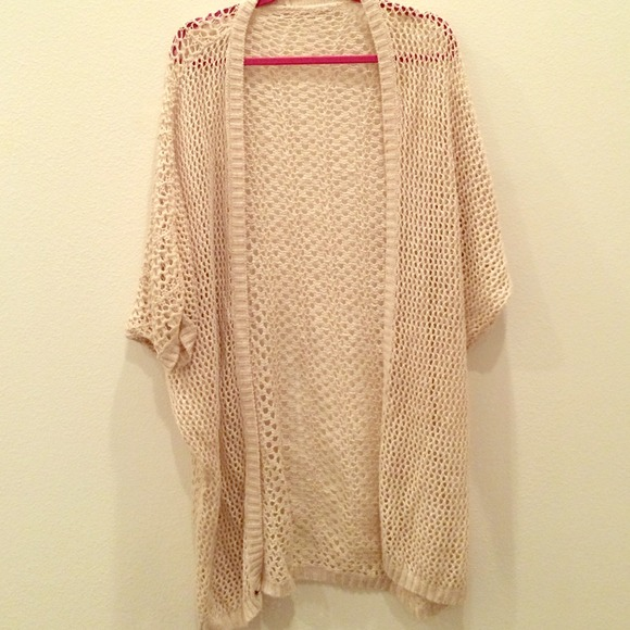 34% off Brandy Melville Sweaters - Tan Finn Knit Cardigan from ...