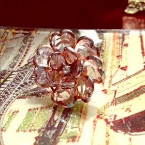 Oversized Crystal Ring