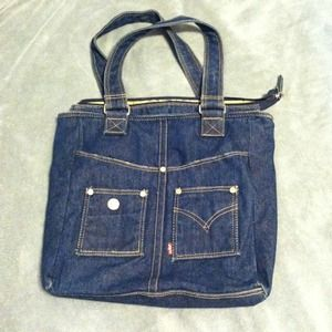 Levi's Handbags - Levi's Dark Denim Bag