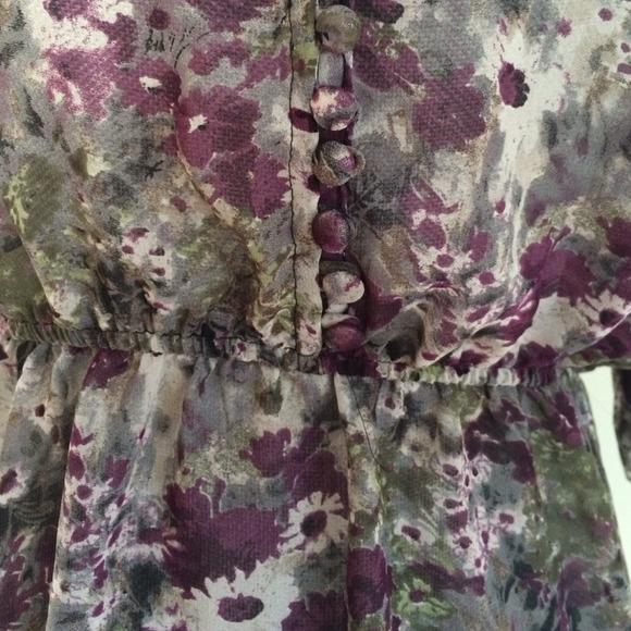 Tops - Floral chiffon top