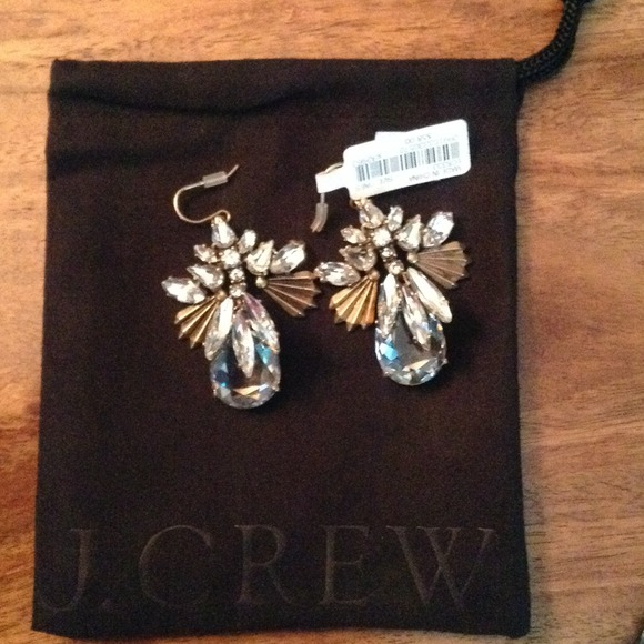 J. Crew Jewelry - 72hr SALE $35 J.Crew fanned droplets earrings 2