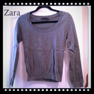 Zara Gray Sweater