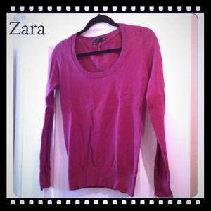 Zara Plum Sweater