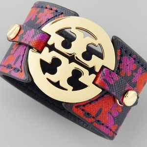 Tory Burch Jewelry - New Tory Burch Patterned Cuff