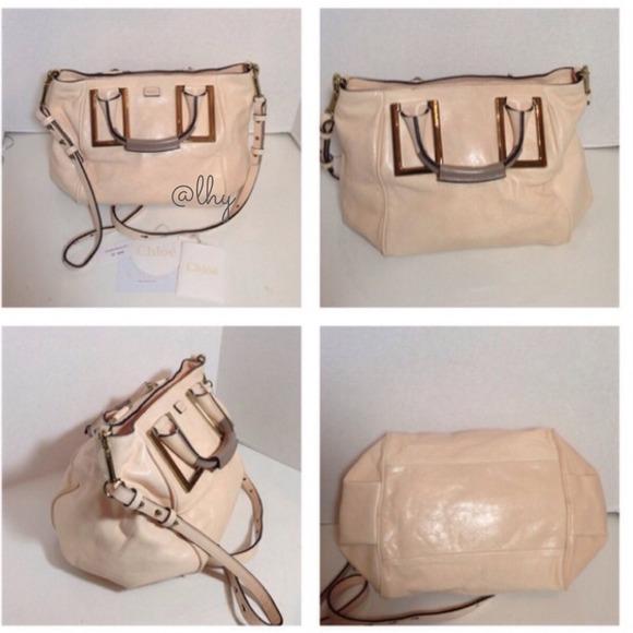 33 off chloe handbags chloe ethel medium satchel