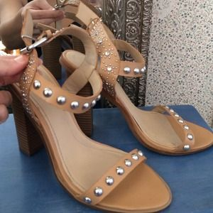 Isabel marant inspired Zara studded sandals/heels