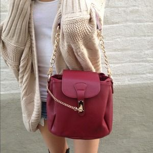 Handbags - Leather shoulder bag