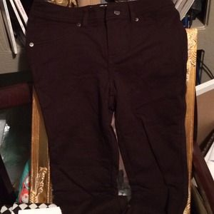 Brown Jeggings- new