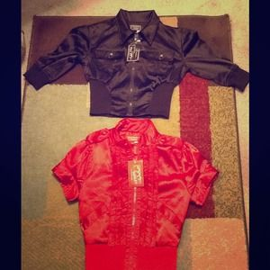 26 International  Jackets & Blazers - **Bundle**  Ashley: Brown & Red Jacket