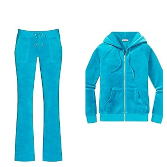 c4d50e1d47e4 NWT juicy couture tracksuit blue velour-reserved!!