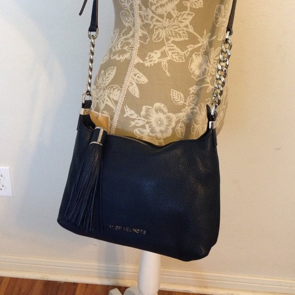 4bf01a21d464 SALE!!! Michael Kors navy blue Weston handbag
