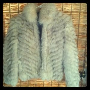 cf4fe5585b6d9 saga fox fur Jackets   Coats - Saga fox Silver fox fur coat