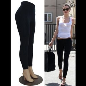 NEW Celeb Style Black Fleece Lined Leggings💋