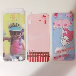 Accessories - 3 sets of iPhone 5/5S screen protector