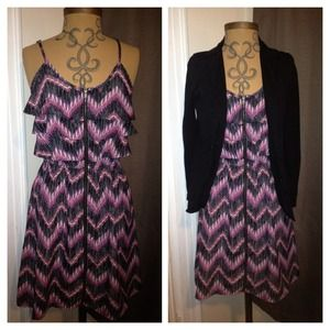 Xhilaration Dresses & Skirts - Chevron print dress. (Blazer not included)