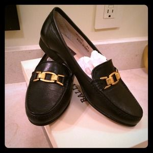 New Bally Moccasins