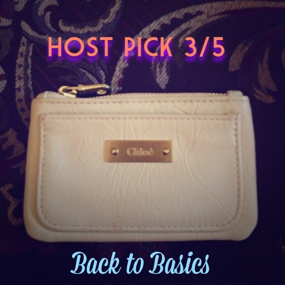 Chloe Accessories - 🔴SOLD🔴 🎉PM Editor Pick HP 3/5 Chloe coin purse