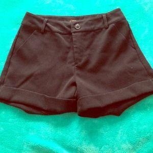 Tobi Black Shorts