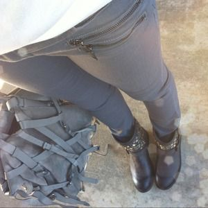 Blank Denim Denim - {REDUCED} Amazing Blank Denim Grey Skinny Jeans!