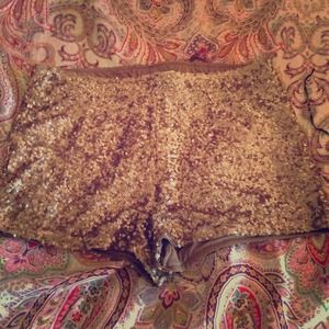 Sequin shorts! Perfect for New Years party!!