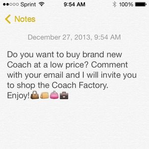 Coach Factory Invites: Sales on your fave bags