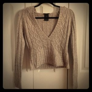 Size Small Crop Sweater