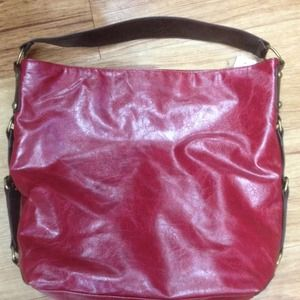Handbags - Red, Black or Brown Slouch Hobo purse