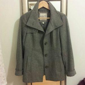 ESPRIT Jackets & Blazers - Esprit Grey Wool Coat