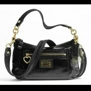 COACH Poppy Patent Leather Crossbody