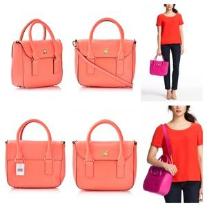 kate spade Bags - PRICE DROP!! Kate Spade New Bond Street in Coral 2