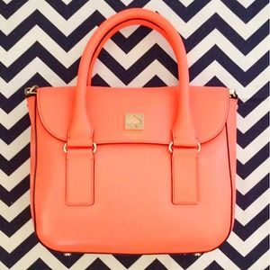 kate spade Bags - PRICE DROP!! Kate Spade New Bond Street in Coral 1